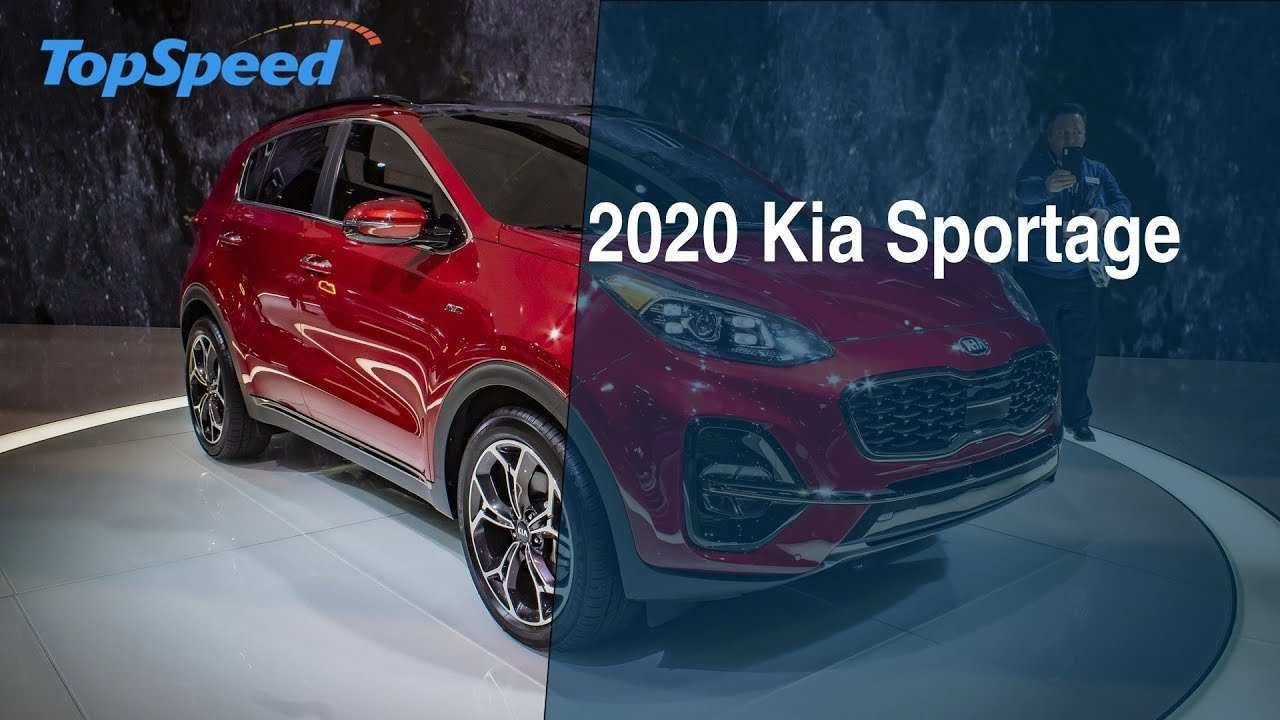 97 A New Kia Sportage 2020 Youtube Concept