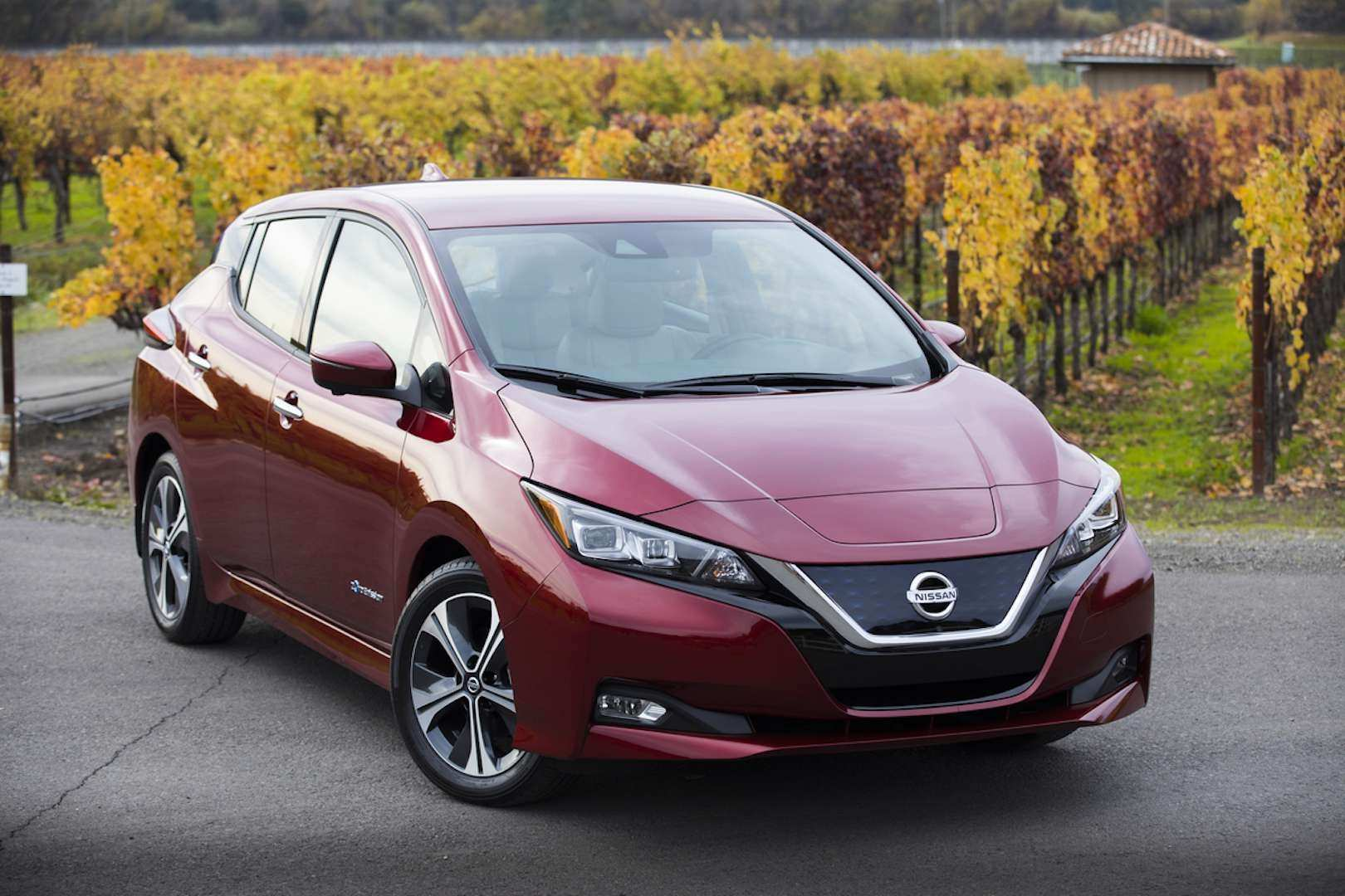97 A Nissan Leaf 2020 Uk History
