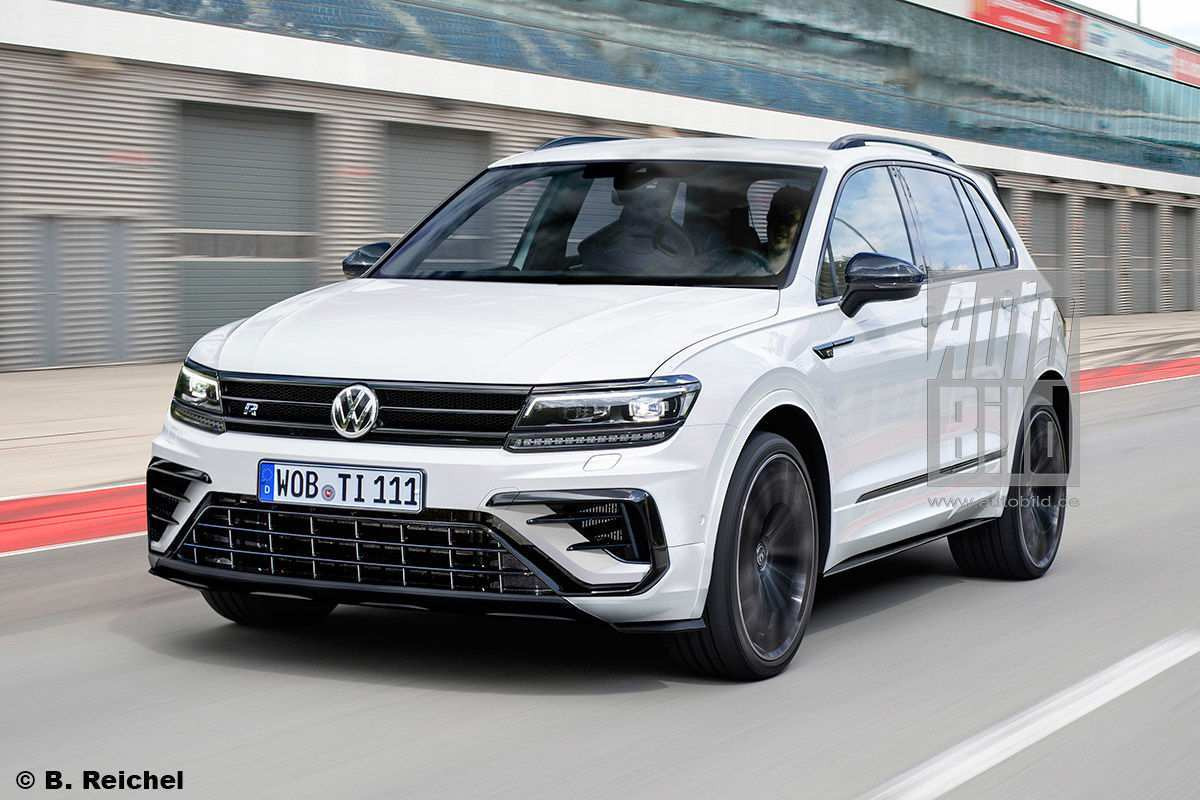 Vw Tiguan 2020 Review.97 A Volkswagen Tiguan Facelift 2020 Concept Review Cars 2020