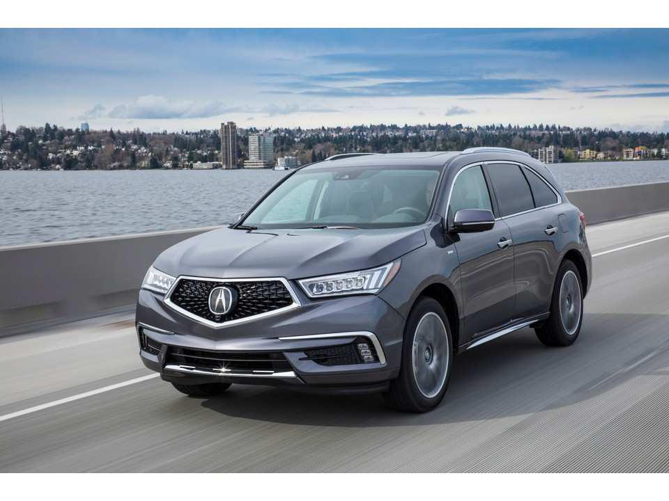 97 All New 2019 Acura MDX Hybrid Overview