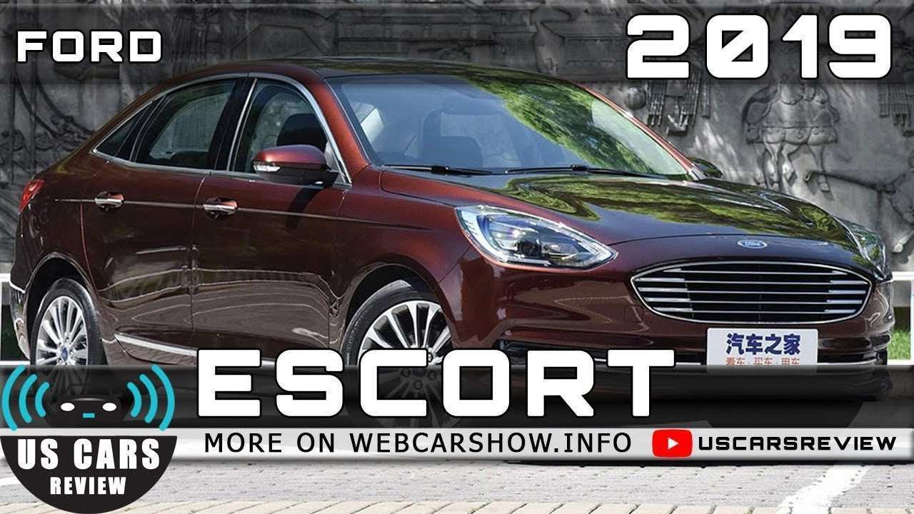 97 All New 2019 Ford Escort Review