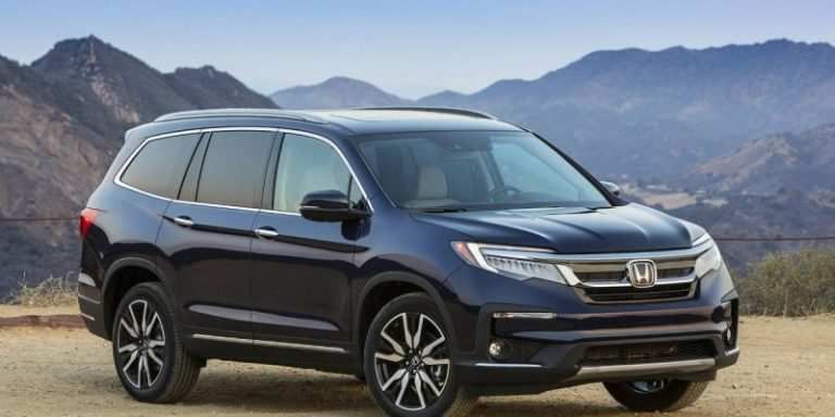 97 All New 2020 Honda Pilot Spy Photos Research New