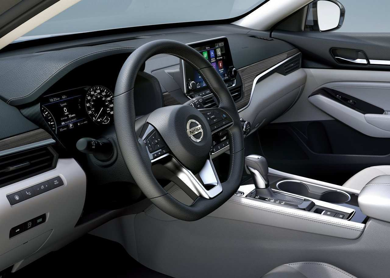 97 All New 2020 Nissan Altima Interior Spy Shoot