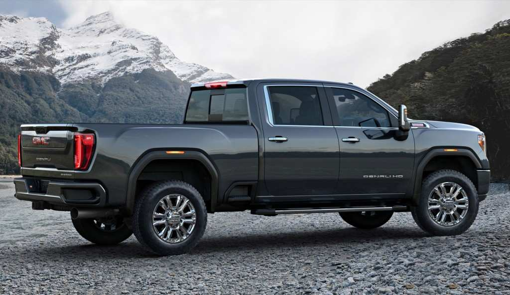 97 New 2020 GMC 2500 Unveil New Model And Performance