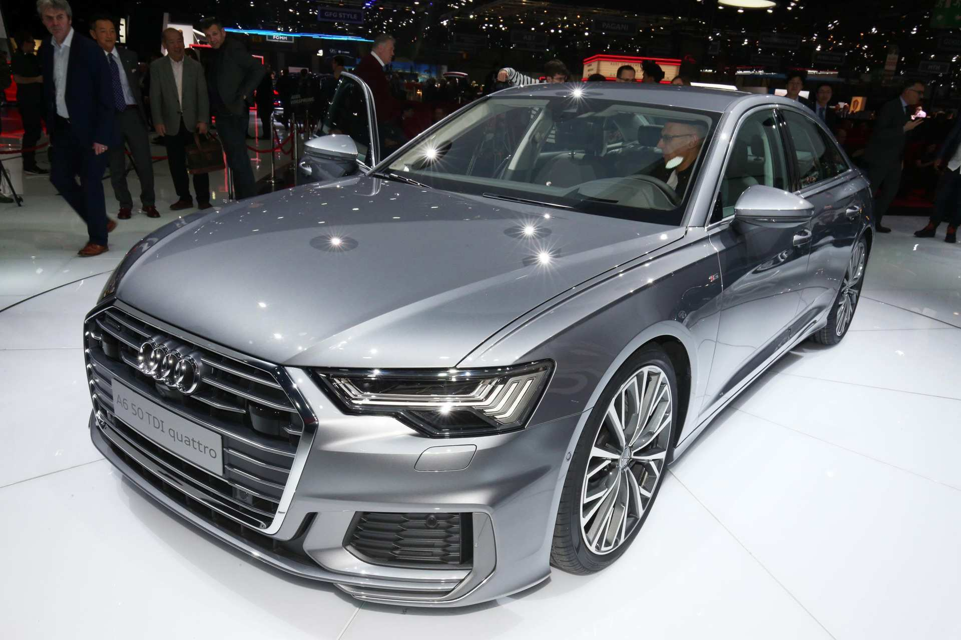 97 The 2019 Audi A6 Engine