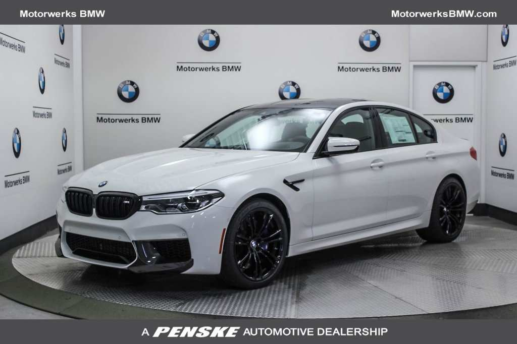 97 The 2019 BMW M5 First Drive
