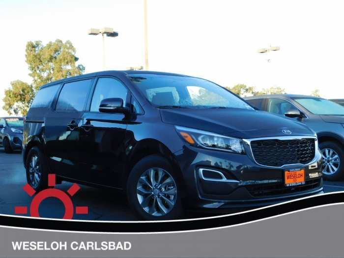 97 The 2019 Kia Sedona Brochure Configurations