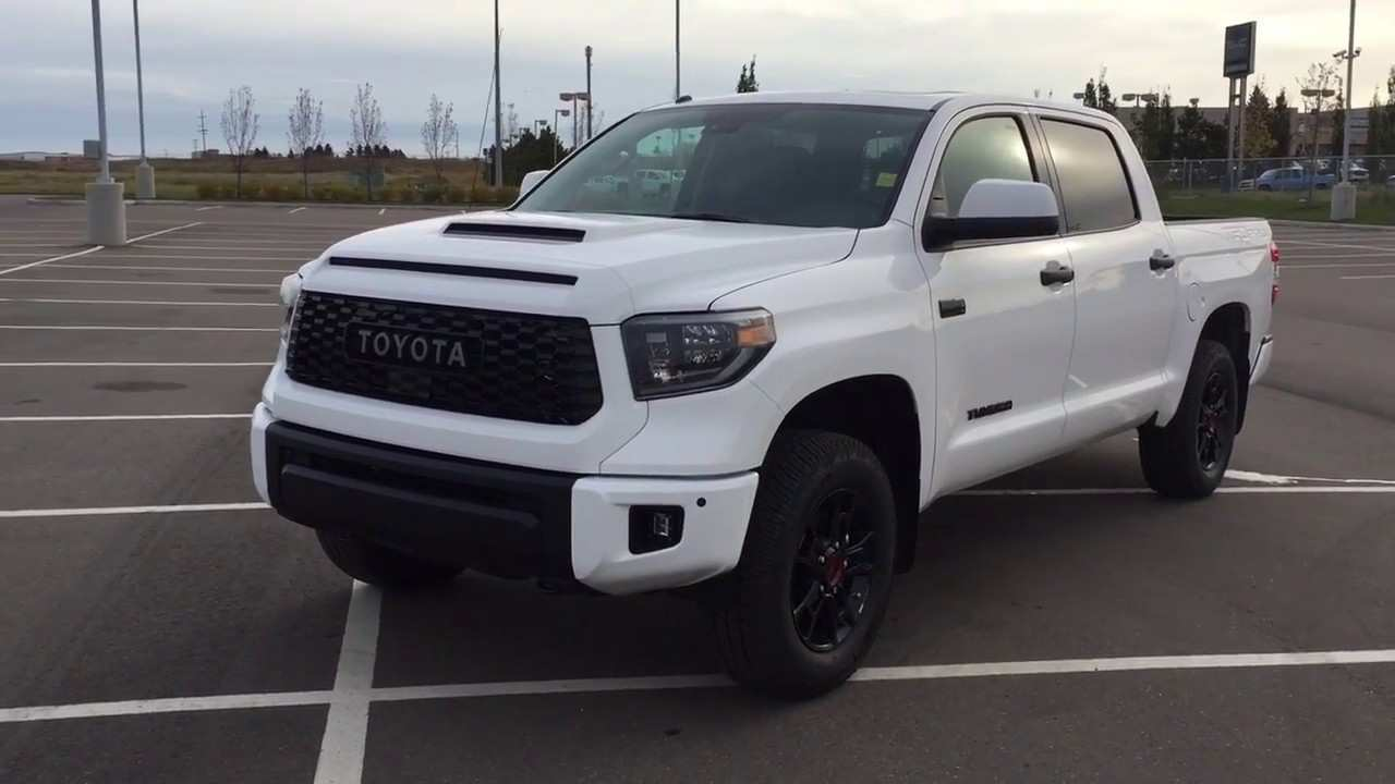 97 The 2019 Toyota Tundra Trd Pro Performance And New Engine