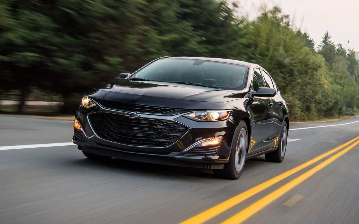 97 The 2020 Chevrolet Malibu Speed Test