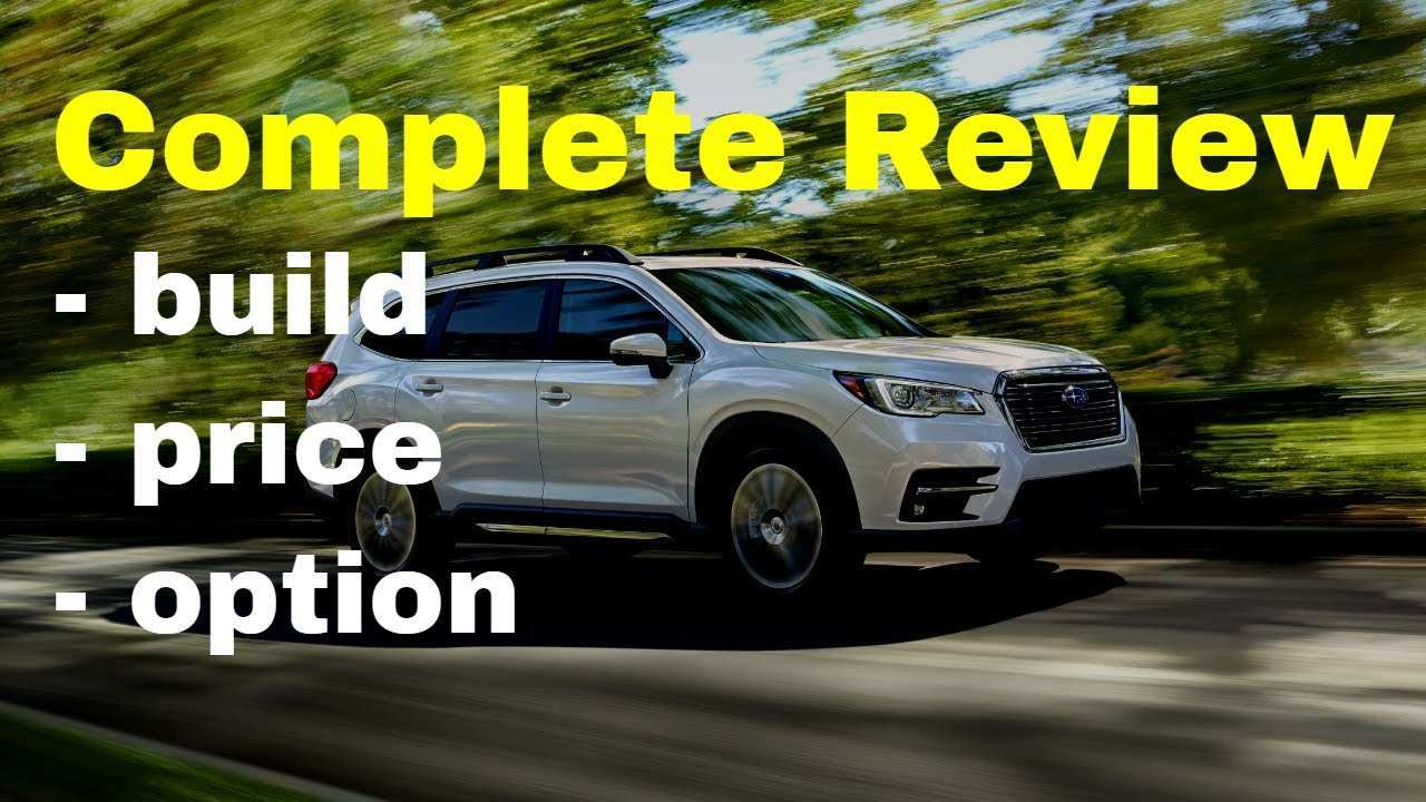 97 The Best Subaru 2019 Build Review