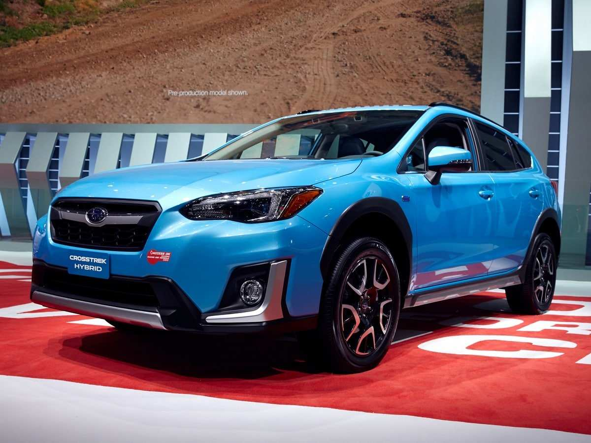 97 The Best Subaru Xv Hybrid 2019 Concept And Review
