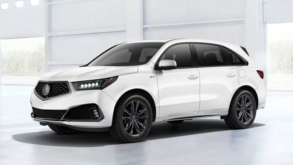 98 A 2019 Acura MDX Spy Shoot