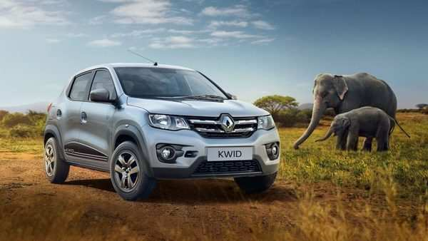 98 A 2019 Renault Kwid Spy Shoot