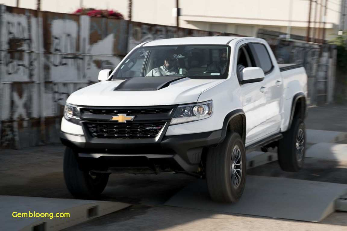 98 A 2020 Chevrolet Colorado Z72 First Drive