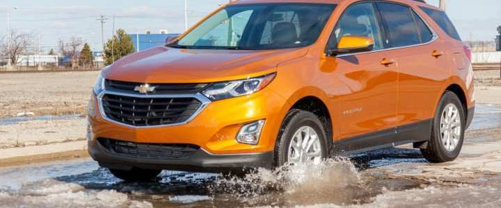 98 A 2020 Chevrolet Equinox Lt Wallpaper