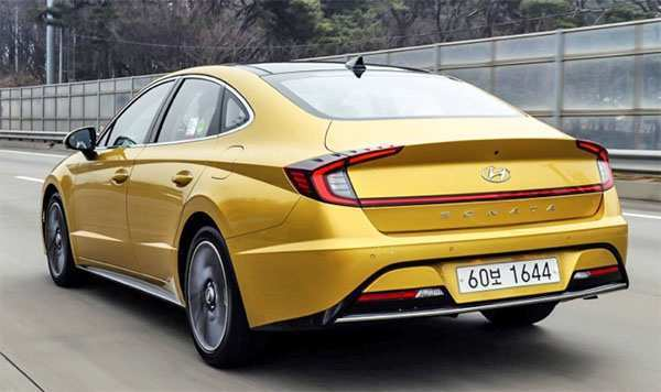 98 A 2020 Hyundai Sonata Yellow Performance And New Engine