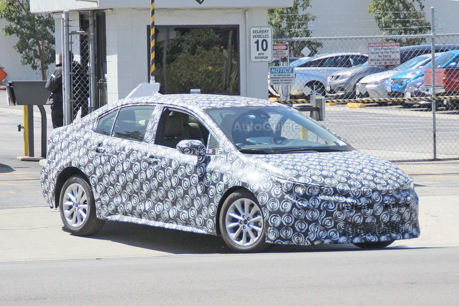 98 A 2020 New Toyota Avensis Spy Shots Style