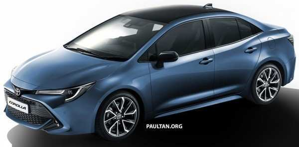98 A 2020 Toyota Auris Overview