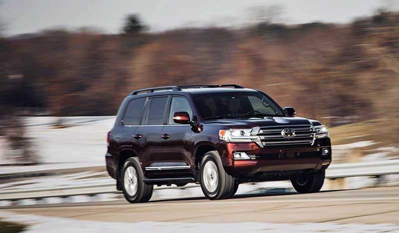 98 A 2020 Toyota Land Cruiser Diesel Speed Test