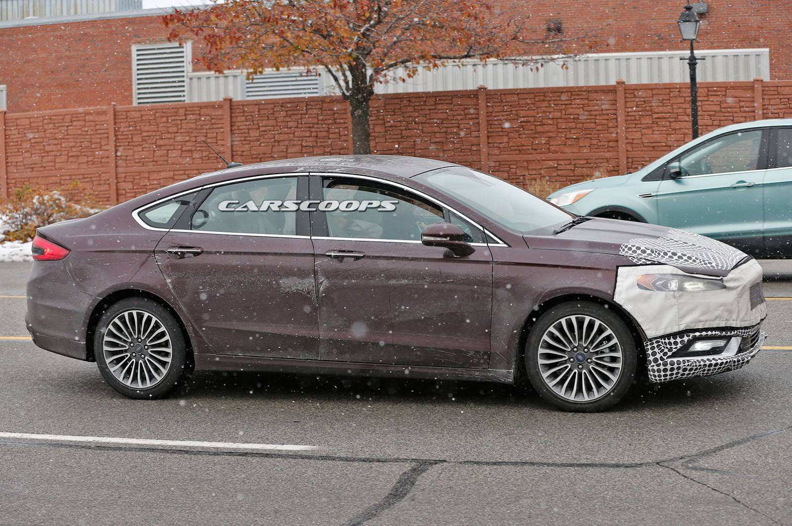 98 A Spy Shots Ford Fusion Redesign