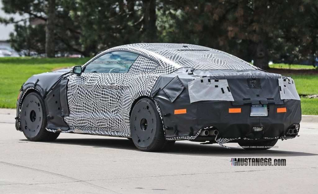 98 All New Spy Shots Ford Mustang Svt Gt 500 Ratings