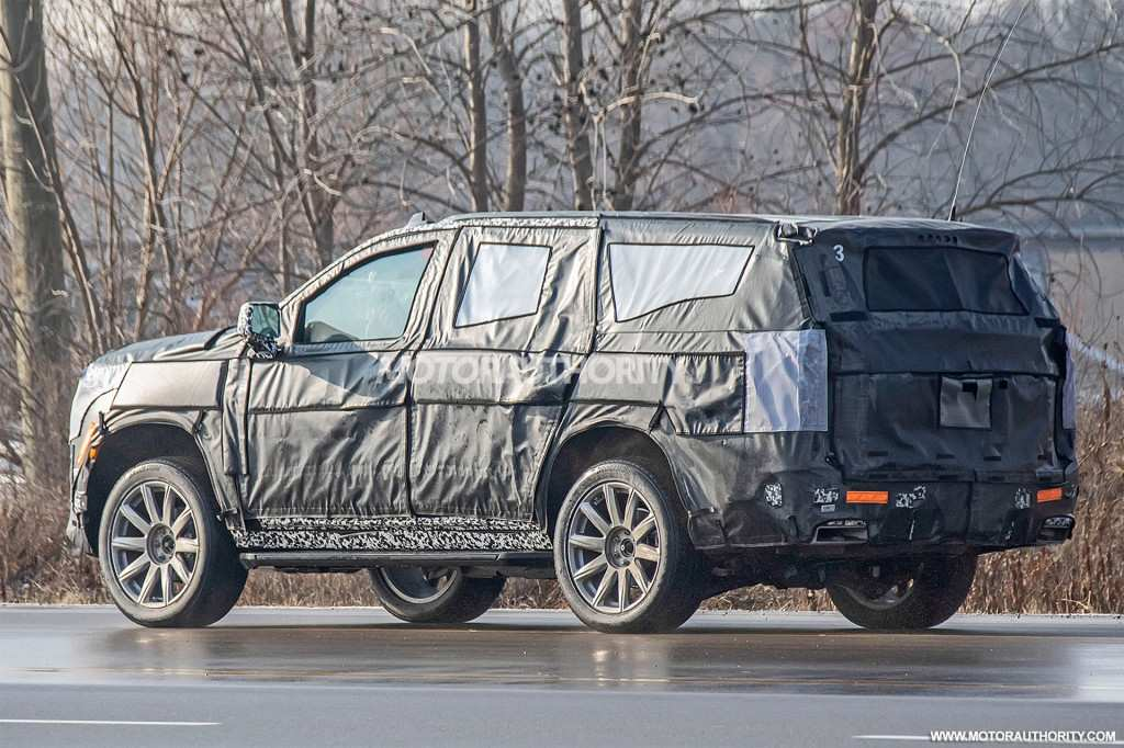 98 Best 2020 Cadillac Escalade Spy Photos Concept
