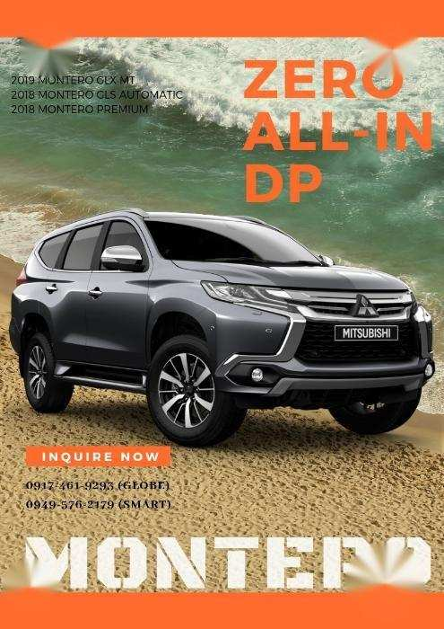 98 New 2019 Mitsubishi Montero Photos