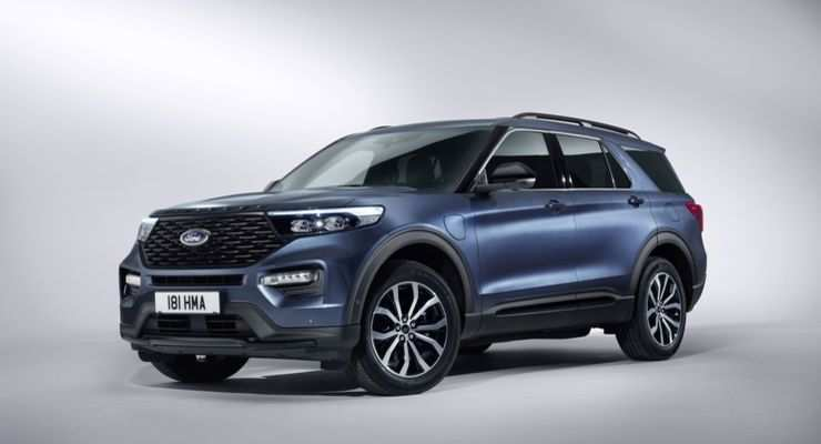 98 New 2020 Ford Explorer Spy Shoot
