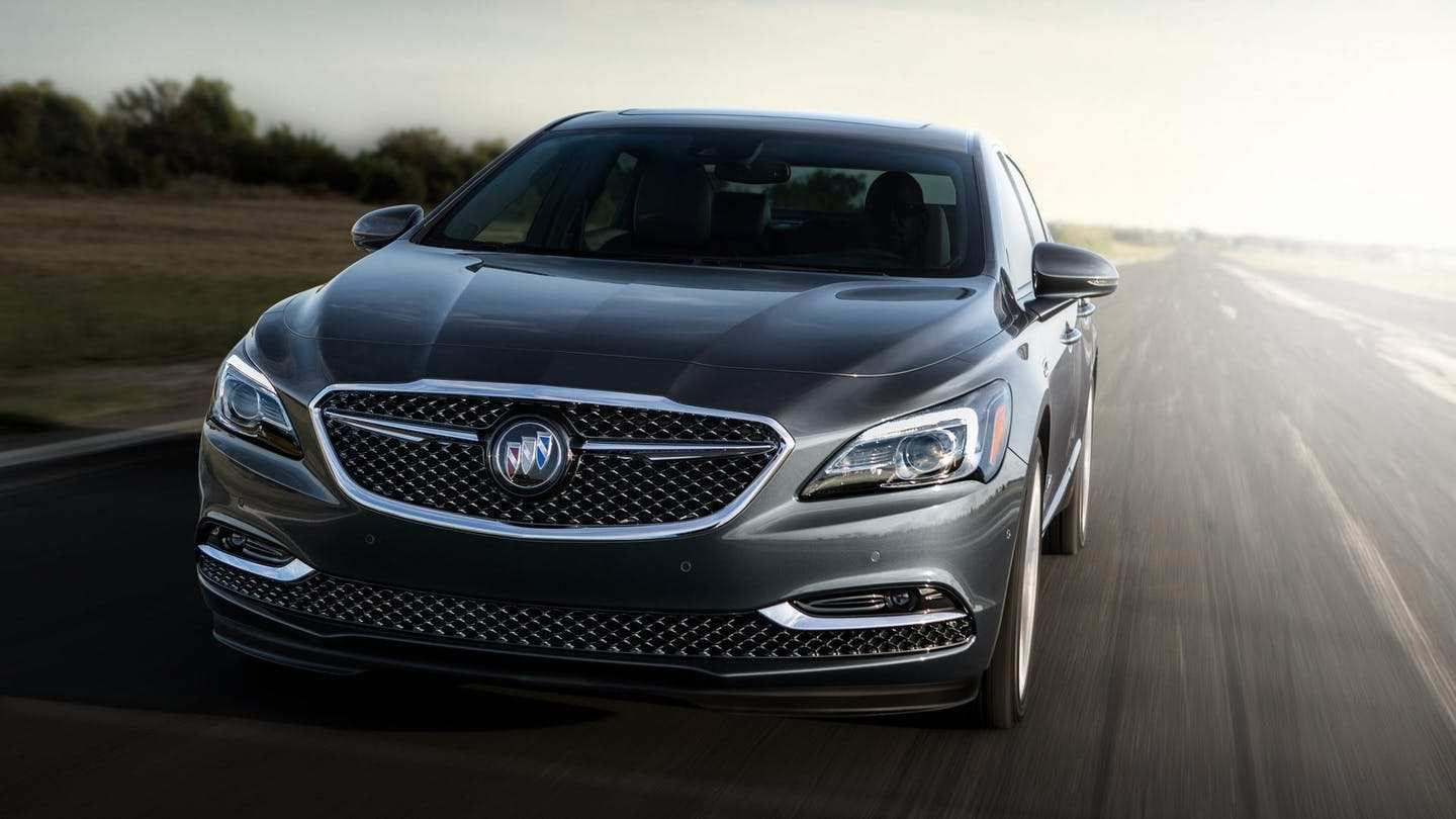 98 The 2019 Buick LaCrosse Redesign