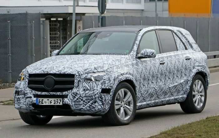 98 The 2019 Mercedes Ml Class Wallpaper