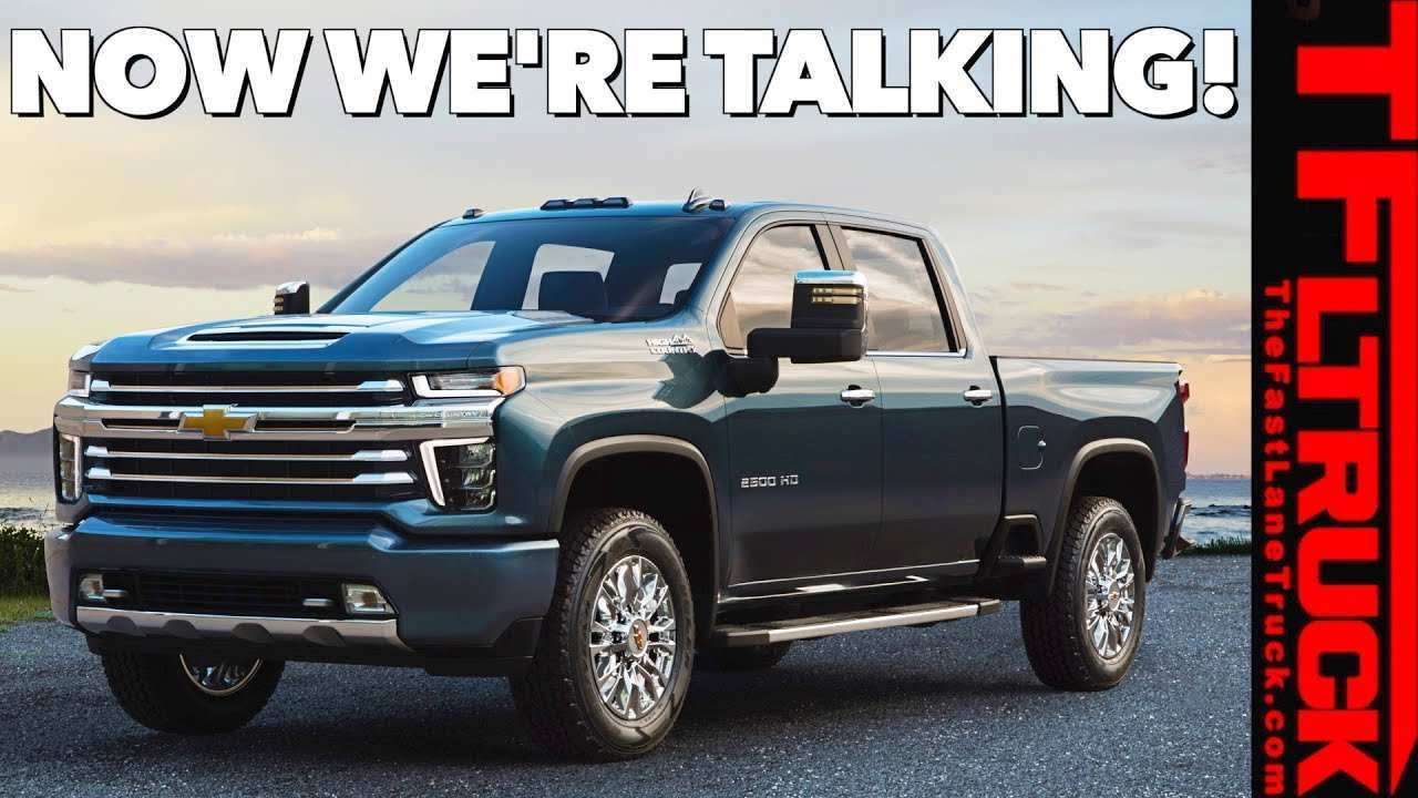 98 The 2020 Chevy Silverado Hd Engine