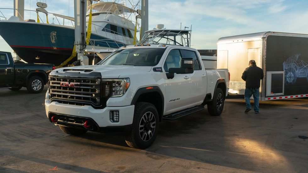 98 The 2020 GMC 2500 Unveil Exterior