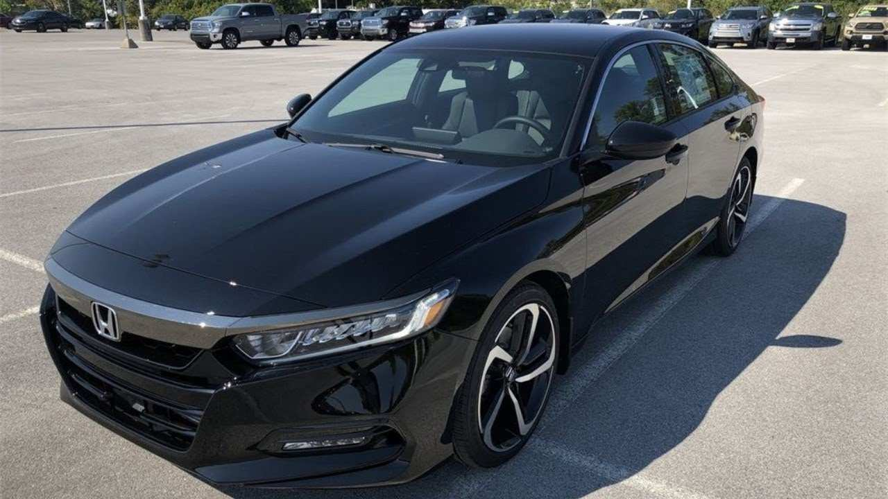 98 The 2020 Honda Accord Sport New Model And Performance