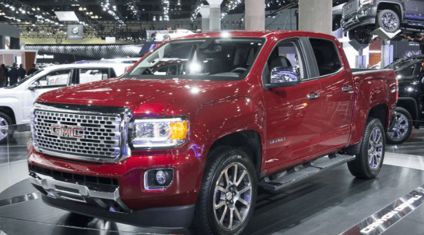 98 The GMC Canyon Denali 2020 Model