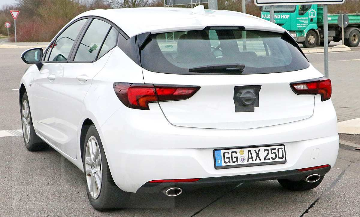 98 The Opel Astra K Facelift 2020 Speed Test