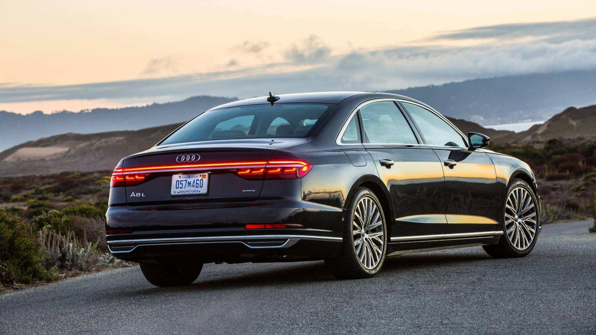 99 A 2019 Audi A8 L In Usa History
