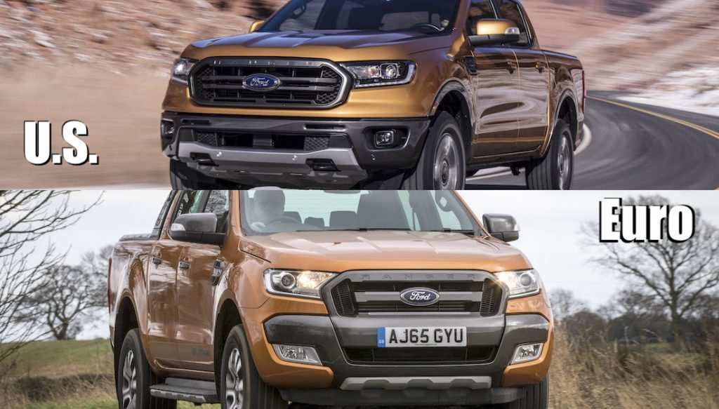 99 A 2019 Ford Ranger Usa Performance