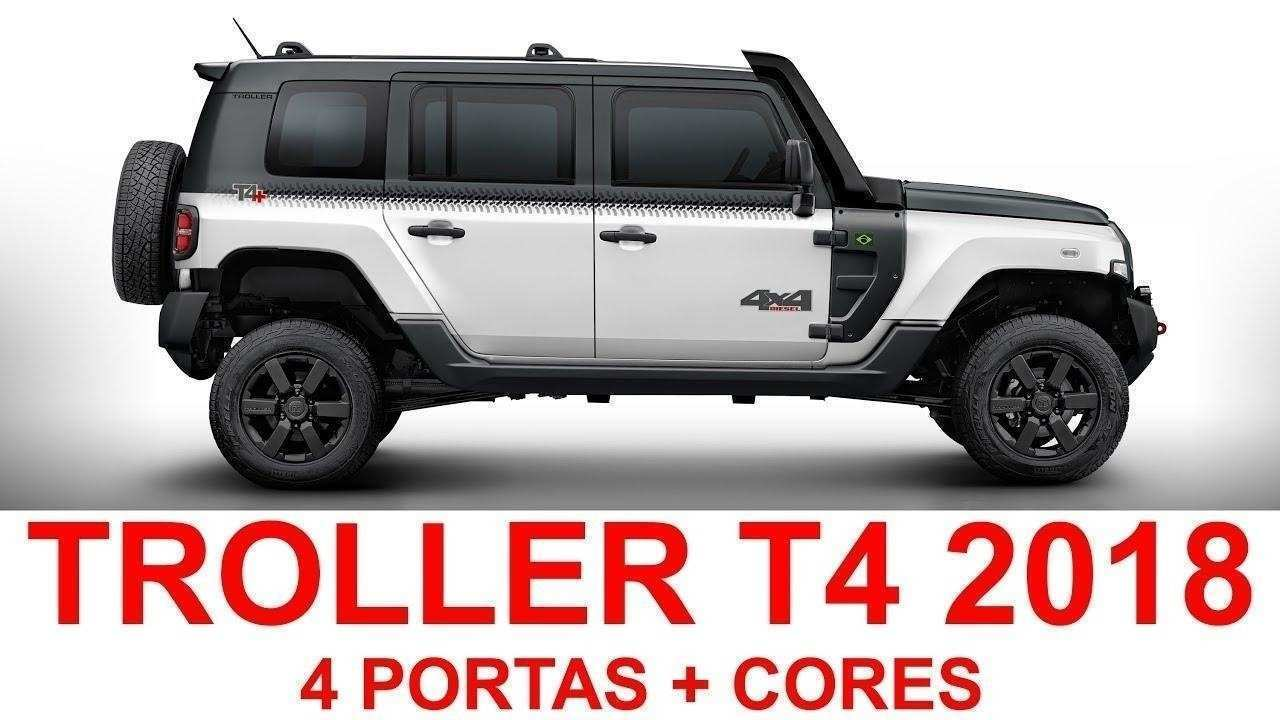 99 A 2019 Ford Troller T4 Specs