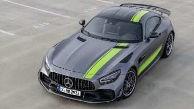 99 A 2019 Mercedes AMG GT Engine