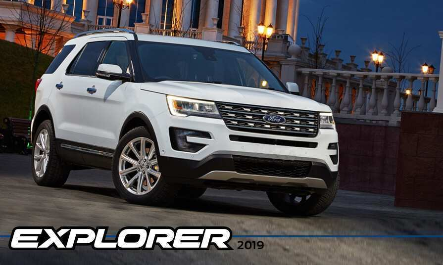 99 A 2019 The Ford Explorer Review And Release Date