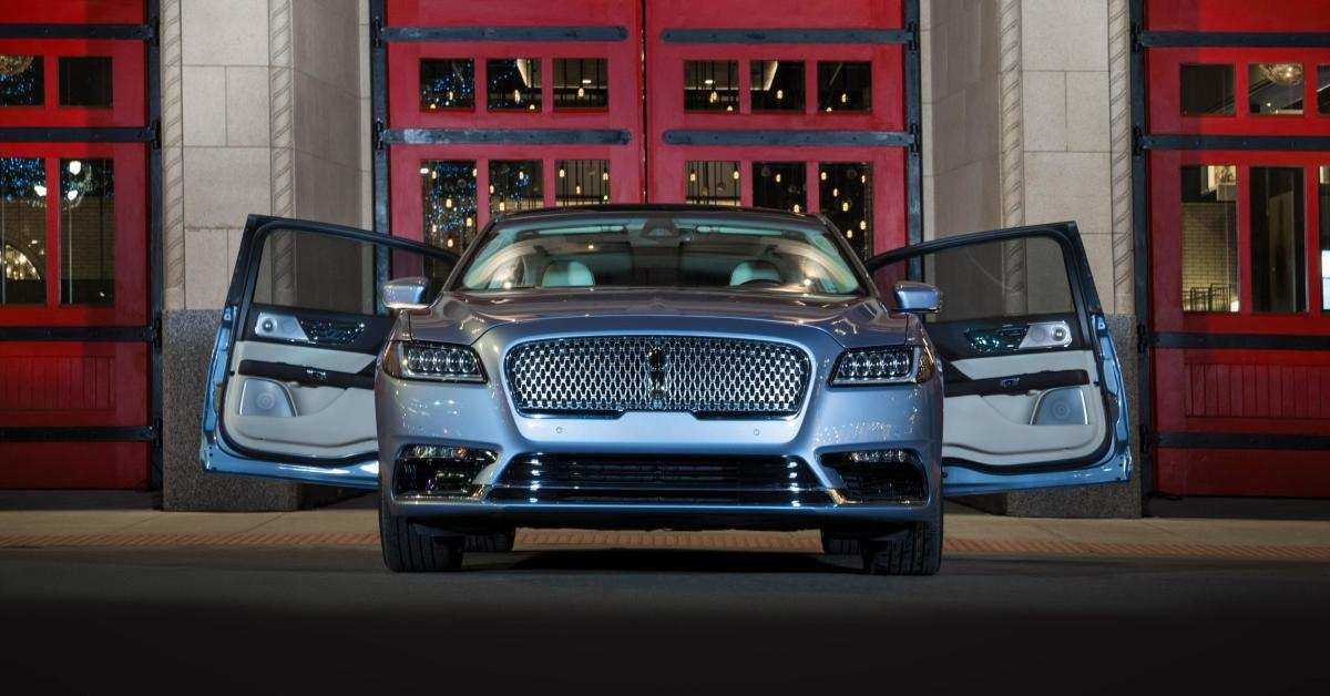 99 A 2019 The Lincoln Continental Price And Review