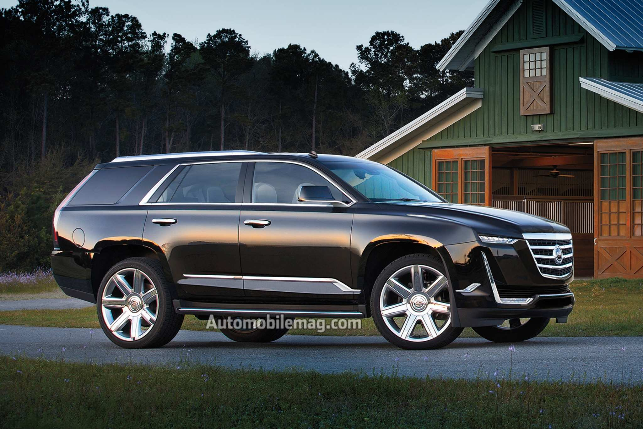 99 A 2020 Cadillac Escalade Platinum First Drive
