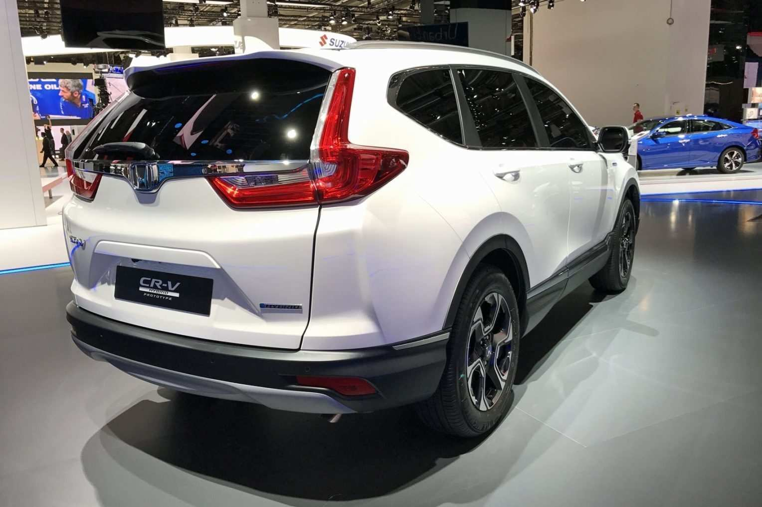 99 A 2020 Honda CR V Spy Shoot