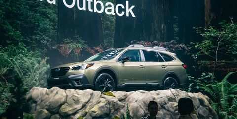 99 A 2020 Subaru Outback Turbo First Drive