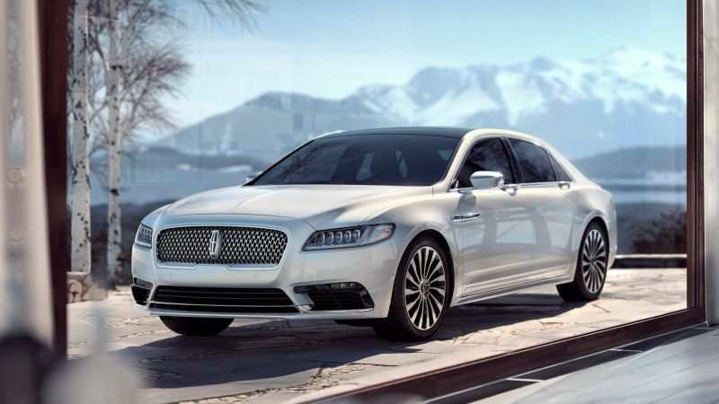 99 A 2020 The Lincoln Continental Concept