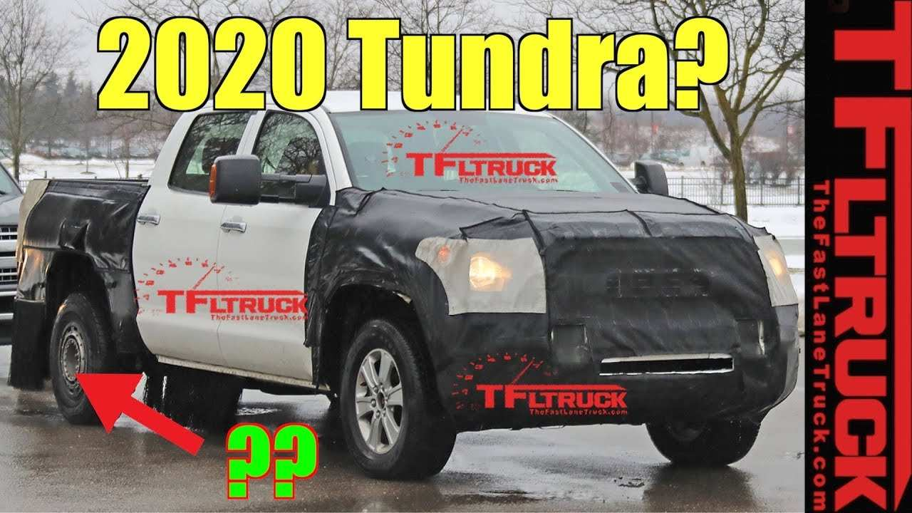 99 A 2020 Toyota Tundra Redesign And Review