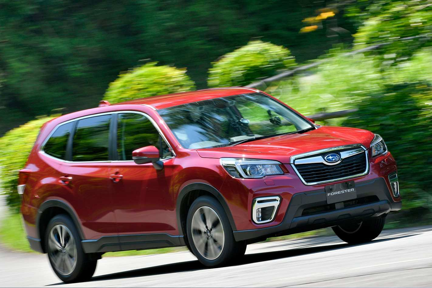 99 A Subaru Forester 2019 News Spy Shoot