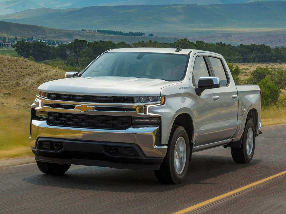 99 New 2019 Chevrolet Silverado Spy Shoot