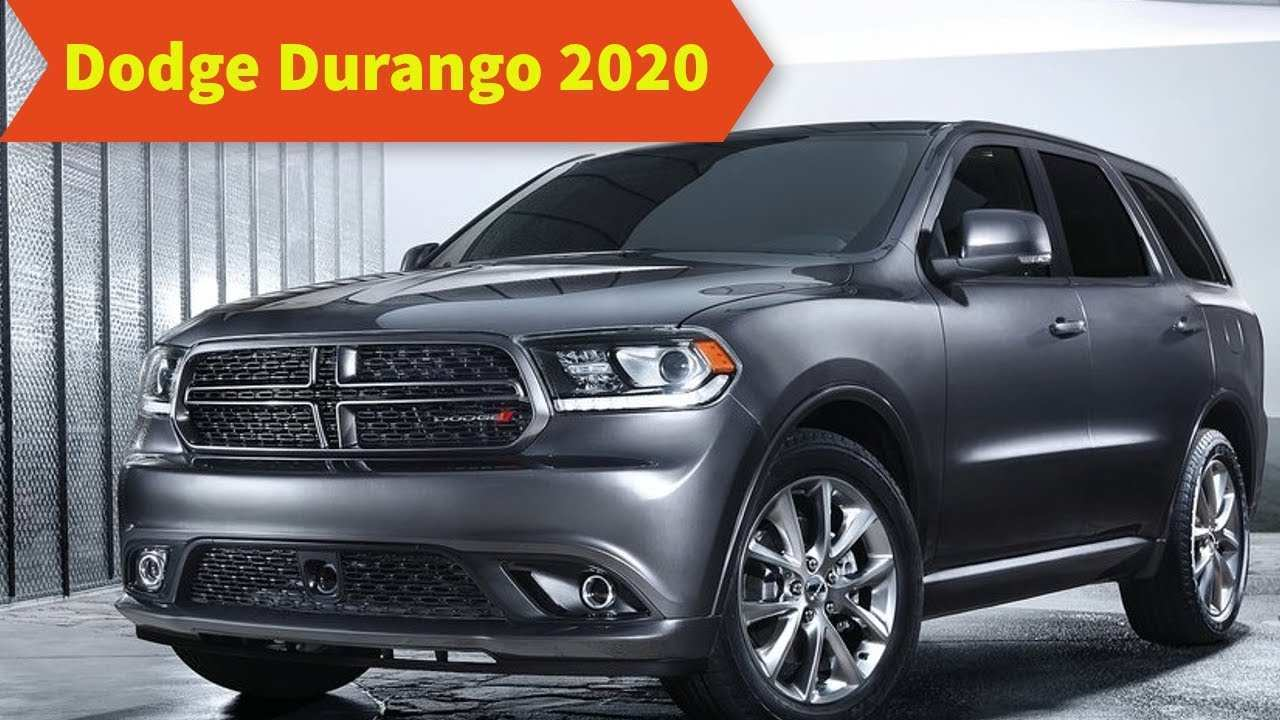 99 New All New Dodge Durango 2020 Concept And Review