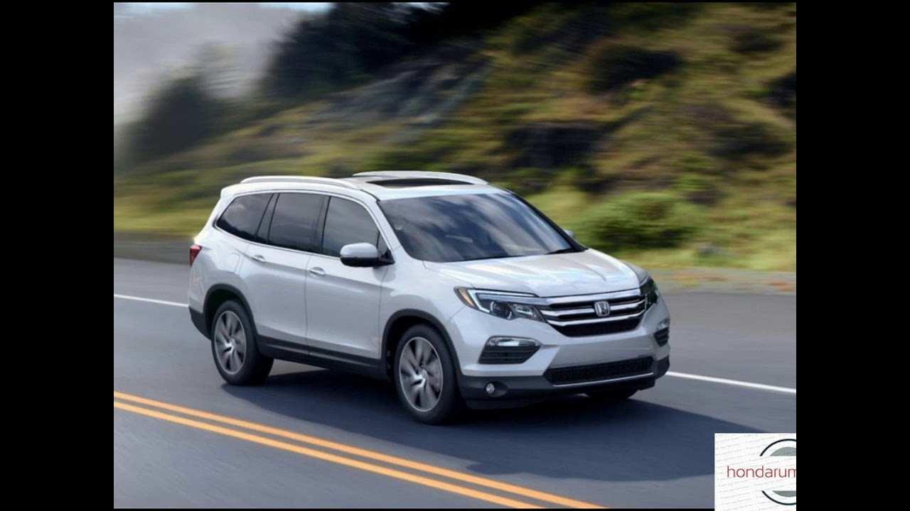 99 The 2019 Honda Pilot Spy Review